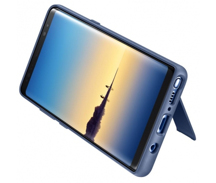 Husa Samsung Galaxy Note8 N950 Standing EF-RN950CNEGWW Albastra Blister Originala