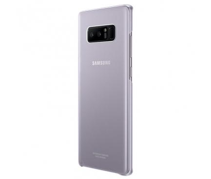 Husa plastic Samsung Galaxy Note8 N950 EF-QN950CVEGWW Clear Cover Gri Blister Originala