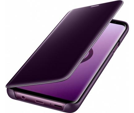 Husa plastic Samsung Galaxy S9+ G965 Clear View EF-ZG965CVEGWW Mov Blister Originala