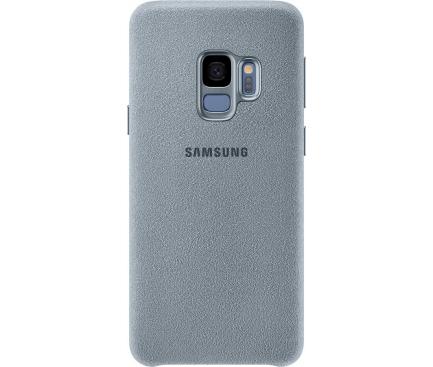 Husa Samsung Galaxy S9 G960 Alcantara EF-XG960AMEGWW Mint Blister Originala
