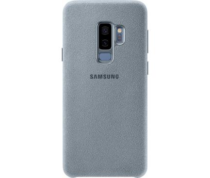 Husa Samsung Galaxy S9+ G965 Alcantara EF-XG965AMEGWW Turquosie Blister Originala