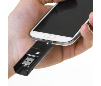 Memorie externa OTG Leef Bridge microUSB - USB 3.0 16GB Blister Originala
