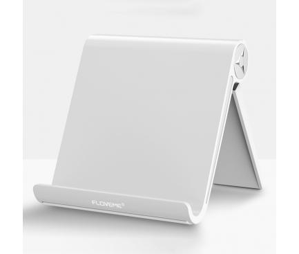 Suport birou universal telefon / tableta Floveme Alb Blister Original