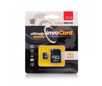 Card memorie Imro MicroSDXC 128GB Clasa 10 UHS-1 Blister