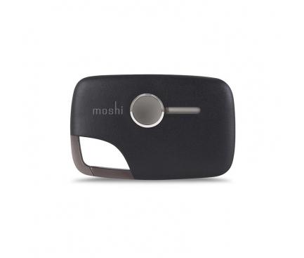 Cablu Date si Incarcare breloc USB - MicroUSB Moshi Xync, 11.5cm, Negru, Blister Original