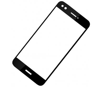 Folie Protectie ecran antisoc Huawei P9 lite mini Flexible Tempered Glass Full Face Neagra Blister