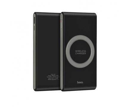 Baterie externa Powerbank cu incarcare wireless HOCO Energetic B32 8000mA Blister Originala