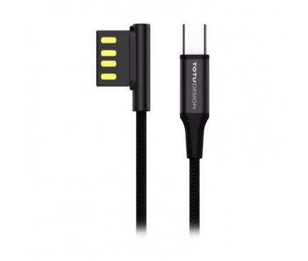 Cablu de date USB - USB Type-C Lightning Totu Design 2in1 1.5m Blister Original