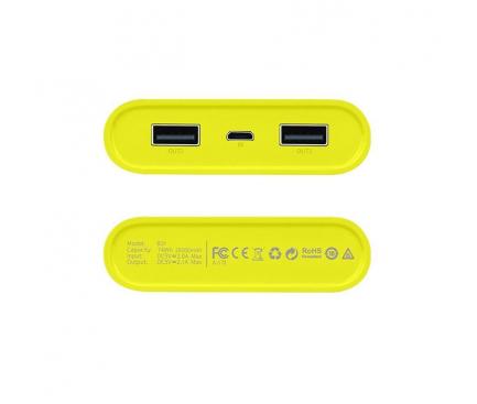 Baterie externa Powerbank HOCO Rege B31 20000mA Gri Blister Originala