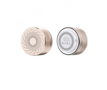 Difuzor Bluetooth Hoco MoBu Swirl BS5 Auriu Blister Original