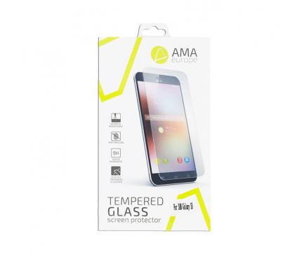 Folie Protectie ecran Apple iPhone X AMA Tempered Glass Full Face 5D Alba Blister