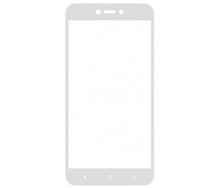 Folie Protectie ecran antisoc Xiaomi Redmi Note 5A Tempered Glass Blueline Full Face Alba Blister