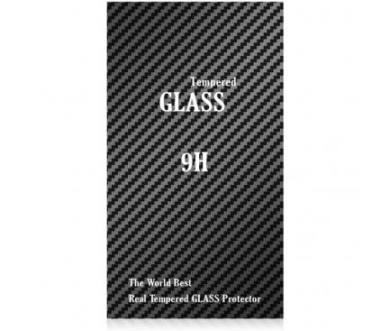 Folie Protectie ecran antisoc Samsung Galaxy S9+ G965 Tempered Glass Full Face 3D Neagra Blueline Blister