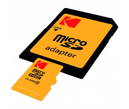 Card memorie Kodak MicroSDHC 16GB Clasa 10 UHS-1 Blister
