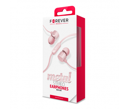 Handsfree Forever MSE-200 Metal Roz Blister