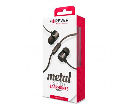 Handsfree Forever MSE-200 Metal Negru Blister