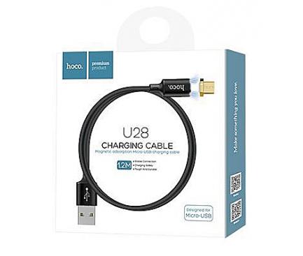 Cablu incarcare MicroUSB Magnetic HOCO U28 1m Blister