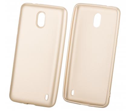 Husa TPU OEM iGel Pentru Huawei P20, Aurie, Bulk