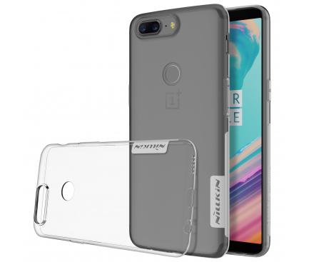 Husa TPU Nillkin Nature pentru OnePlus 5T, Transparenta, Blister