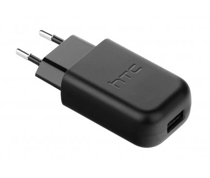 Incarcator Retea USB HTC One S9, TC P2000, 1 X USB, Negru, Bulk