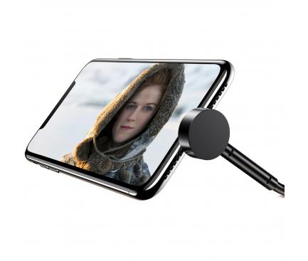 Cablu Date si Incarcare USB la Lightning Baseus Maruko 2.1A, 1 m, Negru, Blister