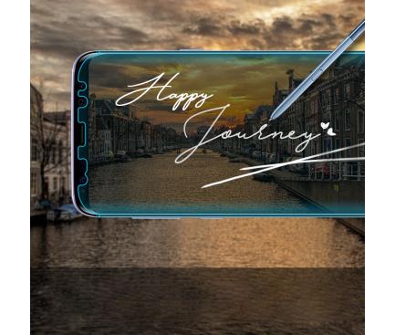 Folie Protectie Ecran Ringke pentru Samsung Galaxy S8 G950, Plastic, Full Face, Set 3 buc, Blister