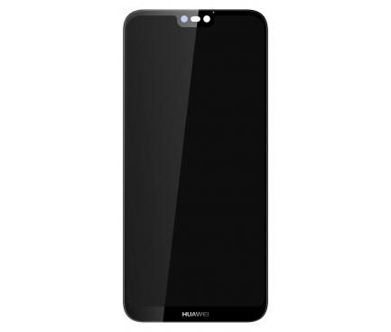 Display - Touchscreen Negru Huawei P20 Lite