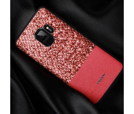 Husa Joyroom Glittery pentru Samsung Galaxy S9 G960, Rosie, Blister