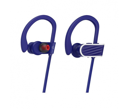 Handsfree Casti Bluetooth HOCO Stroke & Embracing ES7, Sport, Bleumarin, Blister