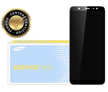 Display - Touchscreen Negru Samsung Galaxy A6+ (2018) A605 GH97-21878A