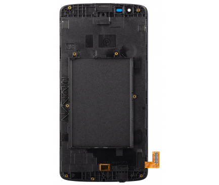 Display - Touchscreen Negru, Cu Rama LG K8 K350