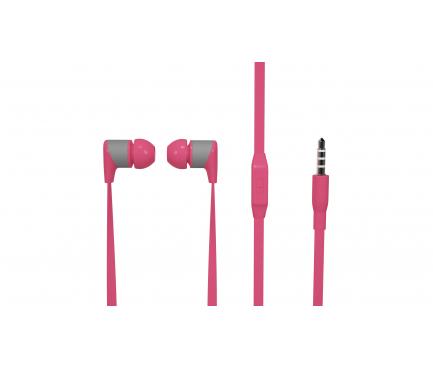 Handsfree Casti In-Ear Soultech Sugar, KK003P, Cu microfon, 3.5 mm, Roz, Blister