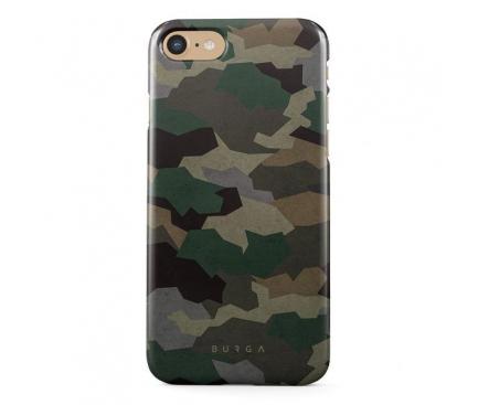 Husa Plastic Burga Tropical Green Camo Apple iPhone 7 / Apple iPhone 8, Blister iP7_SP_ML_03