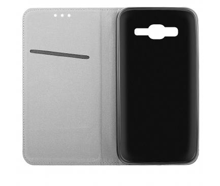 Husa Piele OEM Smart Magnet pentru Nokia 5.1, Bleumarin, Bulk
