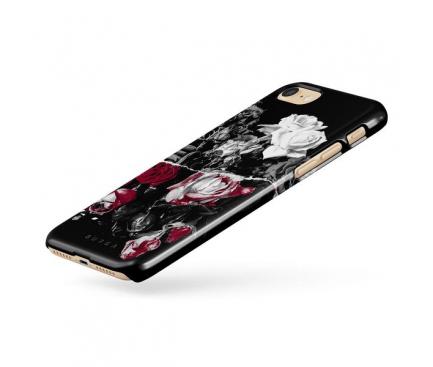 Husa Plastic Burga Crimson Bouquet Apple iPhone 7 / Apple iPhone 8, Blister iP7_SP_FL_42