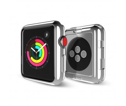Husa TPU DUX DUCIS pentru Apple Watch Edition series 1/2/3 42mm, Argintie, Blister