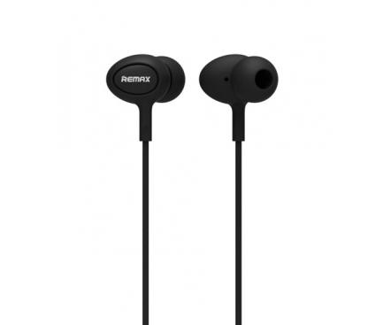 Handsfree Casti In-Ear Remax RM-515, Cu microfon, 3.5 mm, Negru, Blister