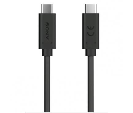 Cablu Date si Incarcare Sony Xperia XA1 UCB32, 1 m, Negru, Bulk