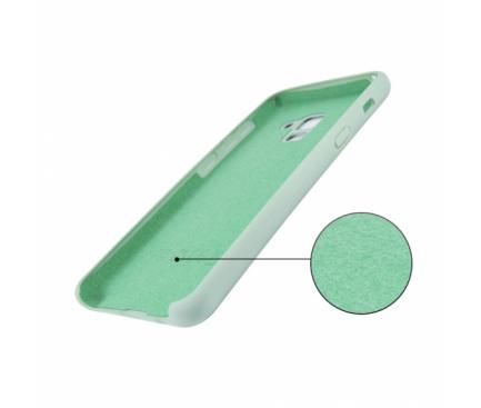 Husa TPU OEM Pure Silicone pentru Samsung Galaxy A6+ (2018) A605, Verde, Blister