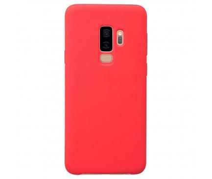 Husa TPU OEM Pure Silicone pentru Samsung Galaxy Note9 N960, Rosie, Blister