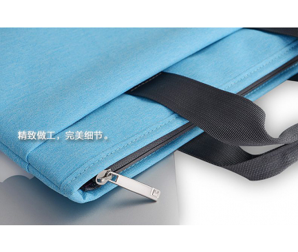 Geanta textil laptop 13 inci Cartinoe Realshine, Albastra