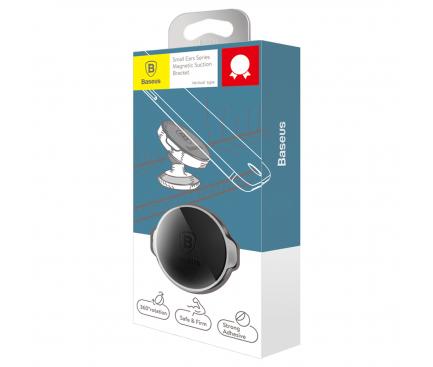 Suport Auto Universal Baseus Small Ears Bracket, Magnetic, Negru, Blister