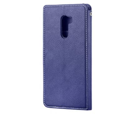 Husa Piele Molan Cano Fancy pentru Xiaomi Pocophone F1, Bleumarin, Blister