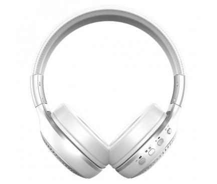 Handsfree Casti Bluetooth Zealot B19, SinglePoint, Alb, Blister