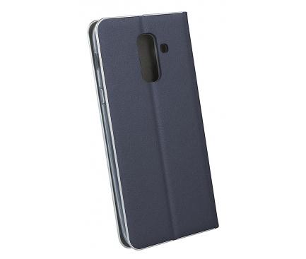Husa Piele OEM Smart Venus pentru Samsung J6 Plus (2018) J610, Bleumarin, Bulk
