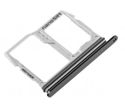 Suport Card - Suport SIM Negru LG G6 H870