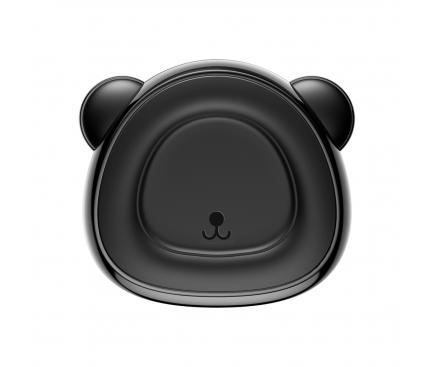 Suport Auto Universal Baseus Bear Charming Magnetic Air Vent, Negru, Blister SUBR-A01