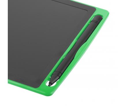 Tableta ecran LCD cu creion stylus pentru notite Star 8.5 inci, Verde, Blister
