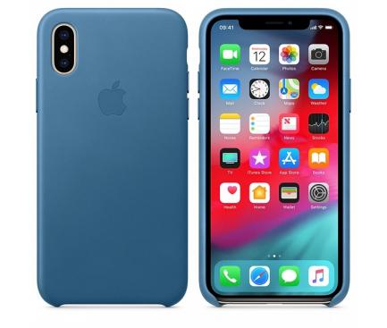 Husa TPU Apple iPhone XS Max, Albastra, Blister AP-MTEW2ZM/A
