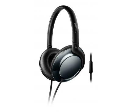 Handsfree Casti Over-Ear Philips Flite Everlite, Cu microfon, 3.5 mm, Negru, Blister SHL4805DC/00